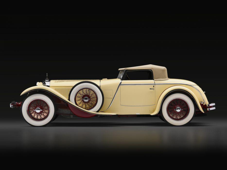 1928 Mercedes Benz 680S Torpedo Roadster Saoutchik retro supercar supercars     gd wallpaper