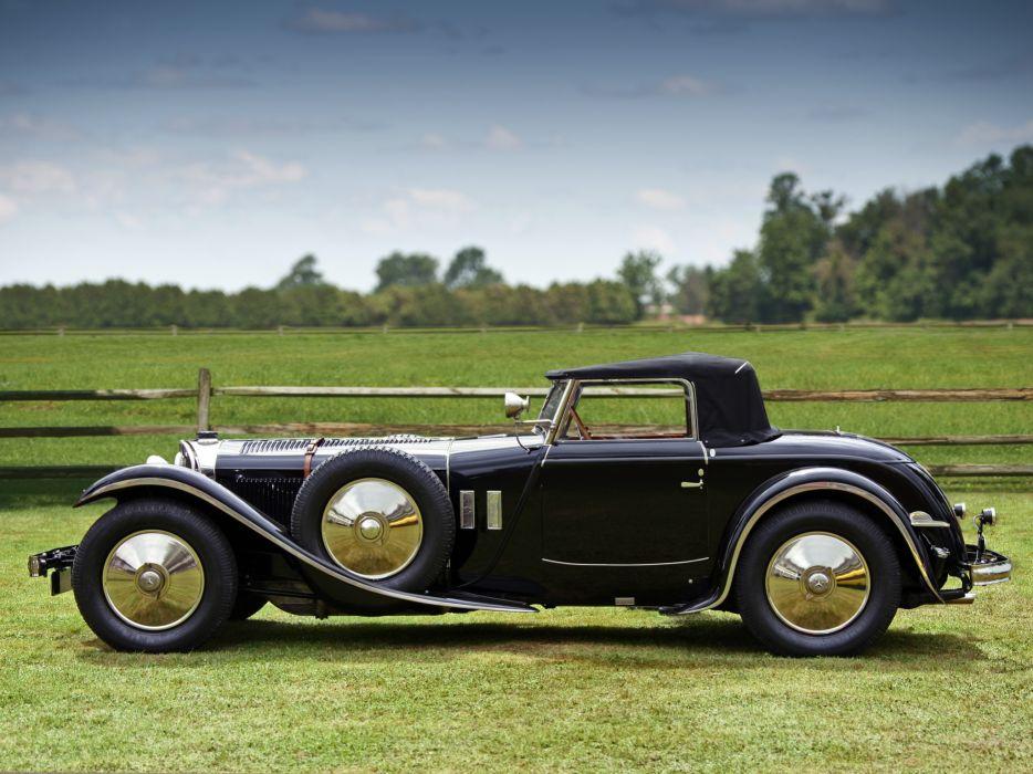 1928 Mercedes Benz 680S Torpedo Roadster Saoutchik retro supercar supercars    g wallpaper