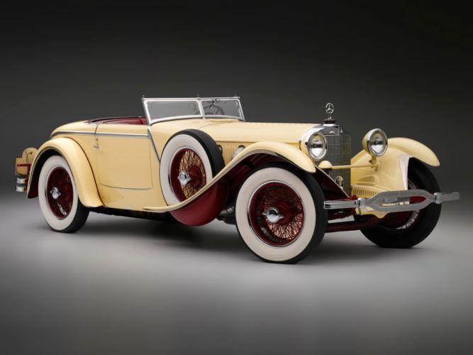 1928 Mercedes Benz 680S Torpedo Roadster Saoutchik retro supercar supercars f wallpaper