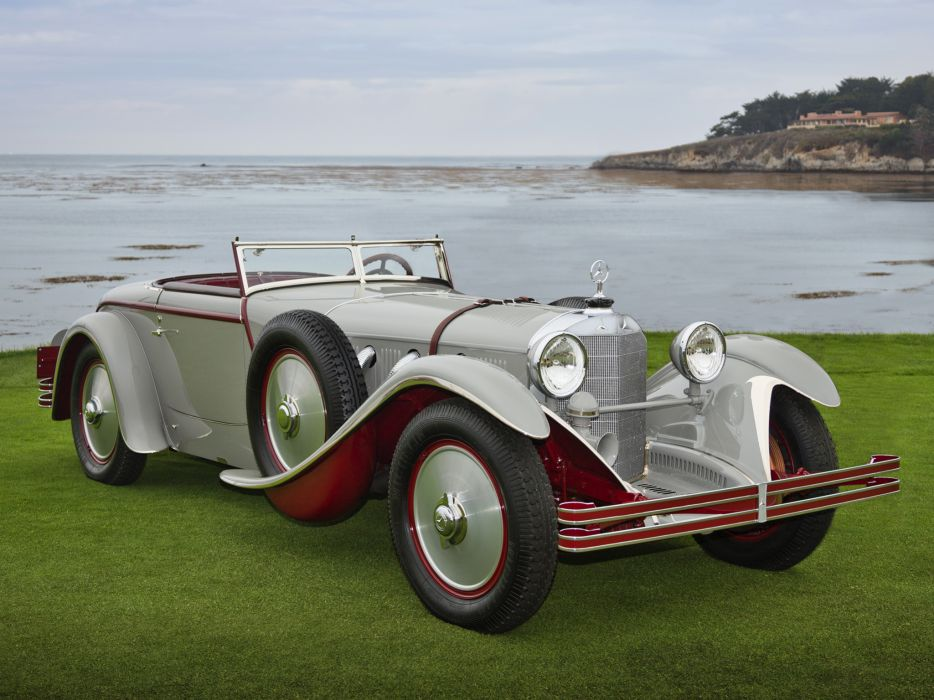 1928 Mercedes Benz 680S Torpedo Roadster Saoutchik retro supercar supercars   gd wallpaper