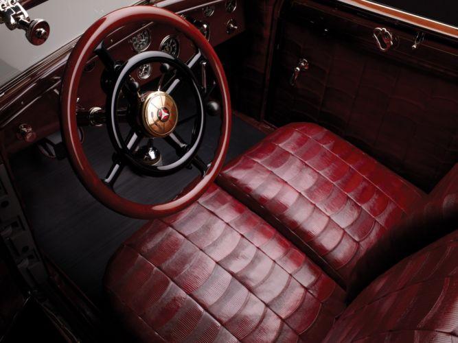 1928 Mercedes Benz 680S Torpedo Roadster Saoutchik retro supercar supercars interior g wallpaper