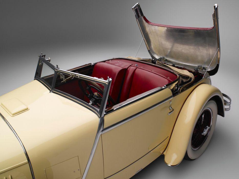 1928 Mercedes Benz 680S Torpedo Roadster Saoutchik retro supercar supercars interior      f wallpaper