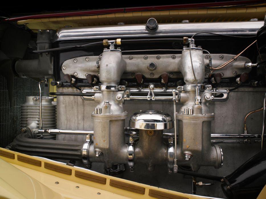 1928 Mercedes Benz 680S Torpedo Roadster Saoutchik retro supercar supercars engine engines        g wallpaper