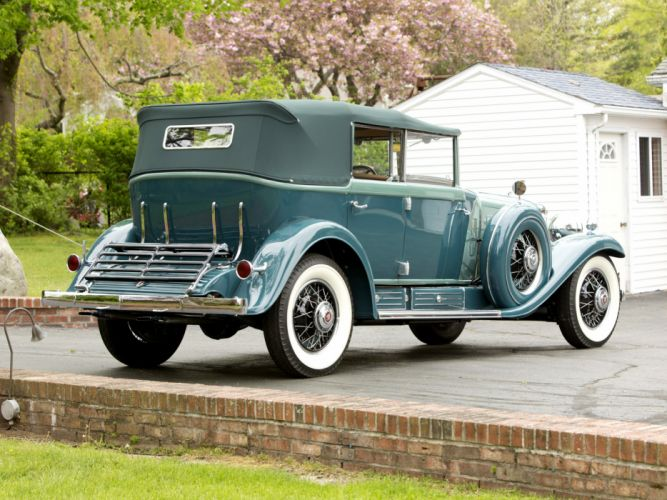 1930 Cadillac V16 All-Weather Phaeton Fleetwood luxury retro gd wallpaper