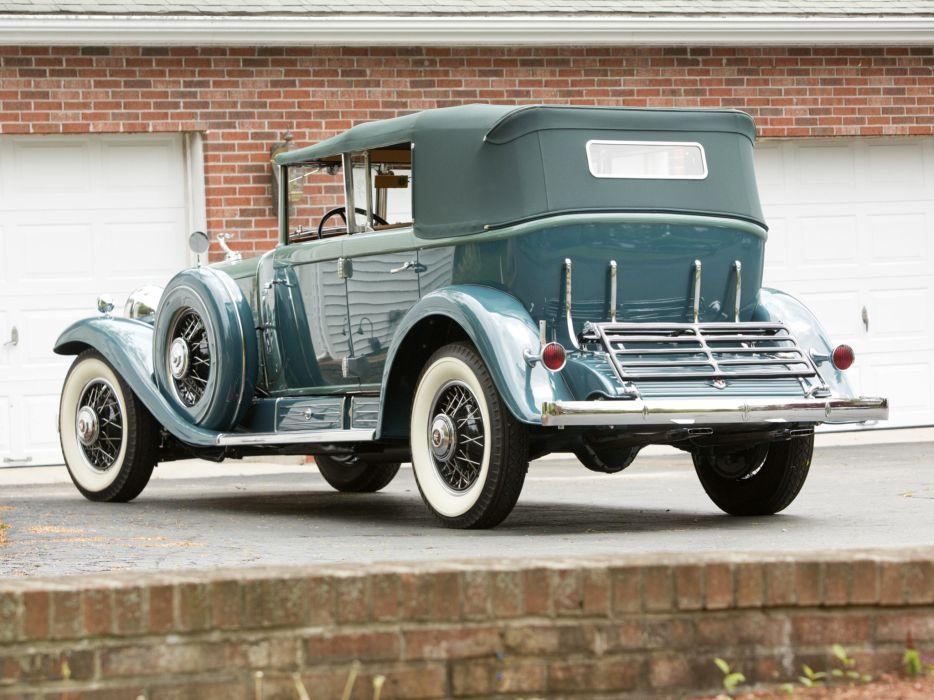 1930 Cadillac V16 All-Weather Phaeton Fleetwood luxury retro wallpaper
