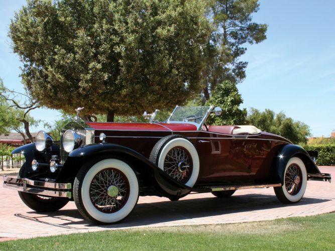 1931 Rolls Royce Phantom II Roadster Brewster retro luxury f wallpaper