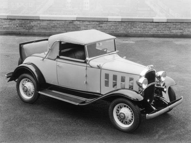 1932 Chevrolet Confederate Convertible 21BA retro f wallpaper