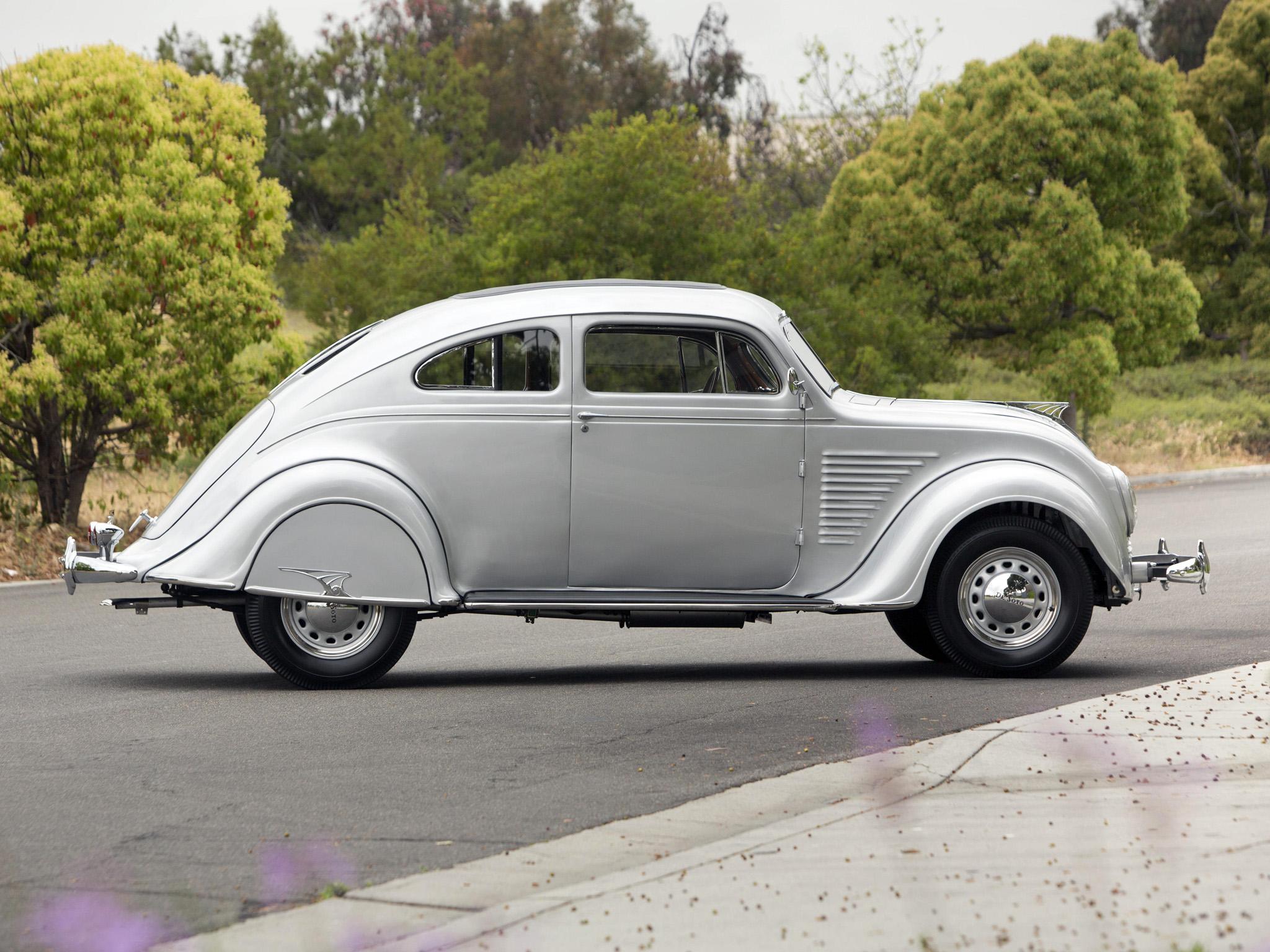 1934 Desoto Airflow Coupe S E Retro G Wallpaper