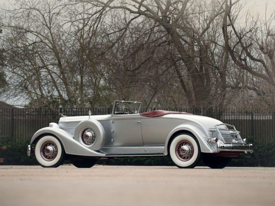 1934 Packard Twelve Coupe Roadster luxury retro   gb wallpaper