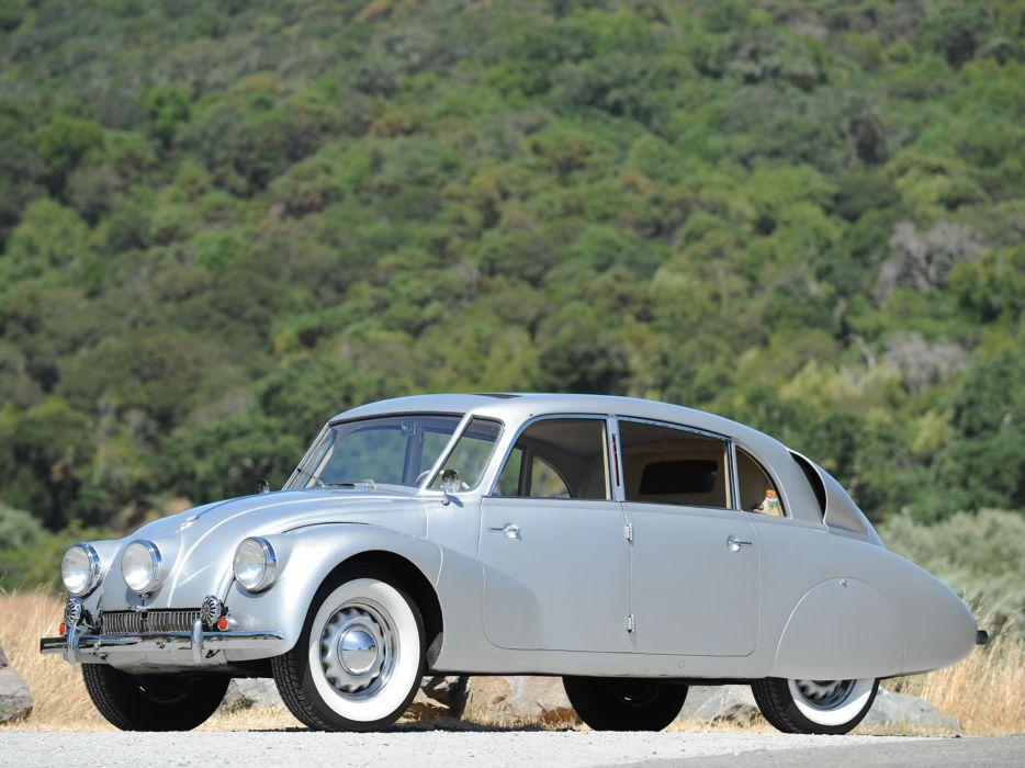 1936 Tatra T87 retro   gd wallpaper