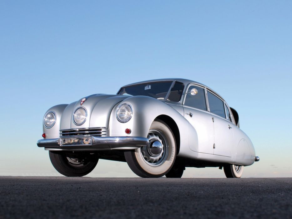 1936 Tatra T87 retro   ge wallpaper