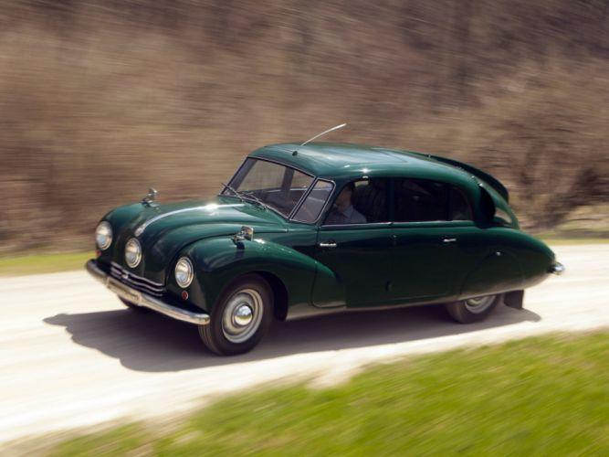 1936 Tatra T87 retro f wallpaper