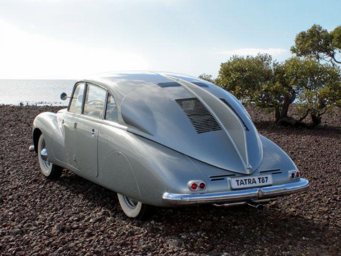 1936 Tatra T87 retro h wallpaper