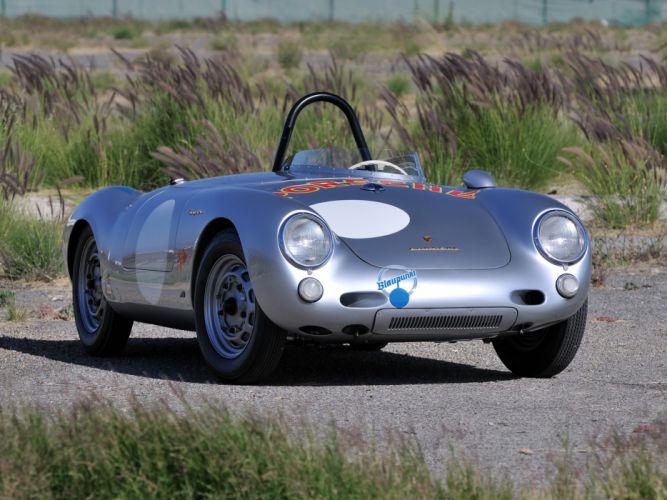 1953 Porsche 550 R-S Spyder race racing supercar supercars retro f wallpaper