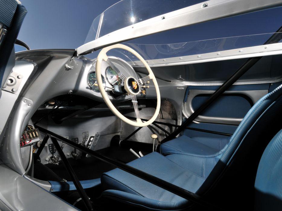 1953 Porsche 550 R-S Spyder race racing supercar supercars retro interior         f wallpaper