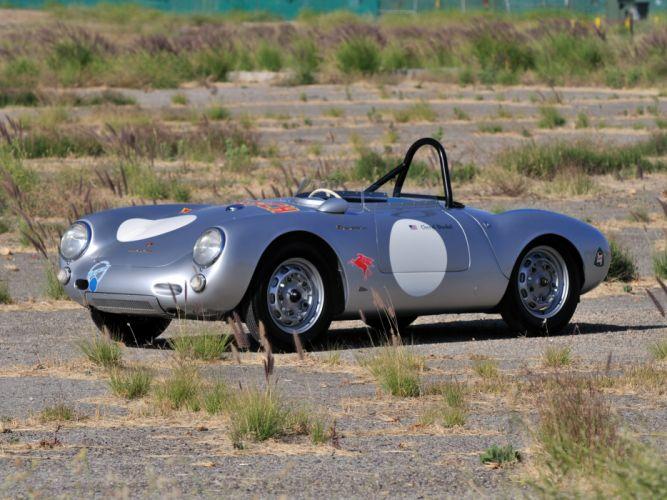1953 Porsche 550 R-S Spyder race racing supercar supercars retro wallpaper