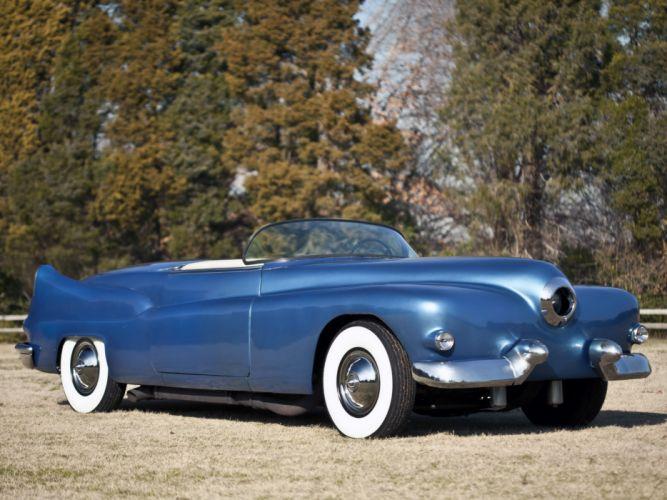 1954 Cramer Comet Roadster retro hf wallpaper