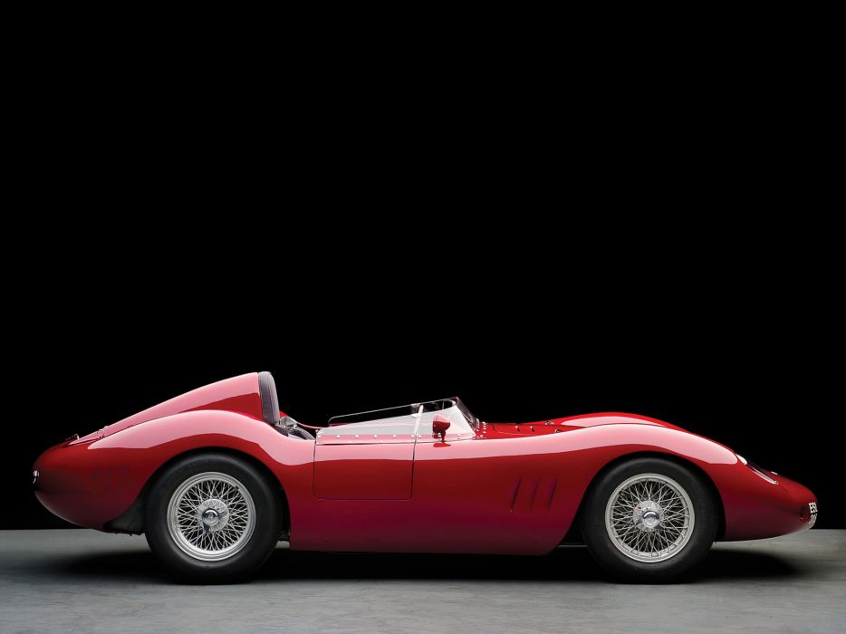 1955 Maserati 250S supercar supercars race racing retro   f wallpaper