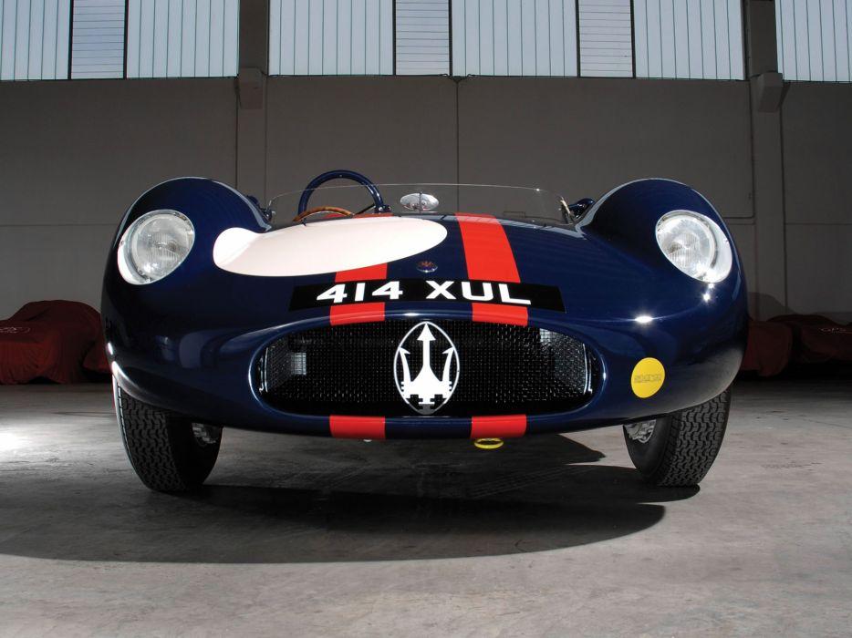 1955 Maserati 250S supercar supercars race racing retro   fb wallpaper