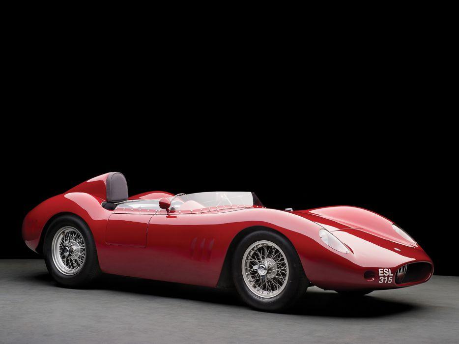 1955 Maserati 250S supercar supercars race racing retro h wallpaper