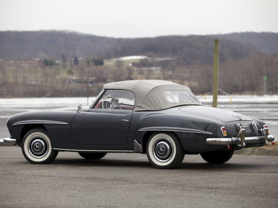 1955 Mercedes Benz 190 S-L US-spec retro      g wallpaper