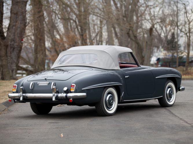 1955 Mercedes Benz 190 S-L US-spec retro ge wallpaper