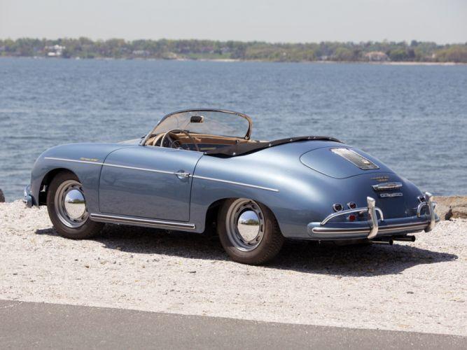1955 Porsche 356A Speedster US-spec T-1 supercar supercars retro gd wallpaper
