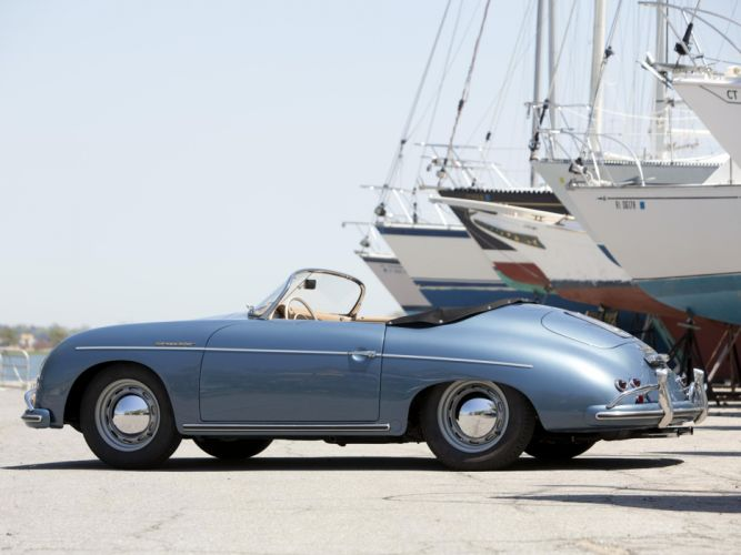 1955 Porsche 356A Speedster US-spec T-1 supercar supercars retro h wallpaper