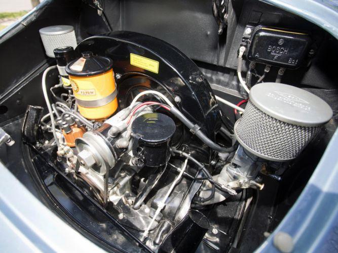 1955 Porsche 356A Speedster US-spec T-1 supercar supercars retro engine engines wallpaper