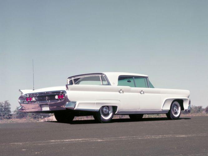 1958 Lincoln Continental Mark III Landau retro luxury g wallpaper