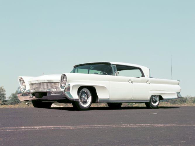 1958 Lincoln Continental Mark III Landau retro luxury wallpaper