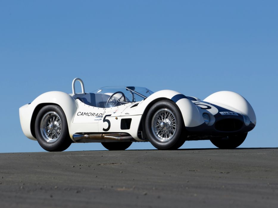 1959 Maserati Tipo 6-1 Birdcage race racing supercar supercars retro     f wallpaper