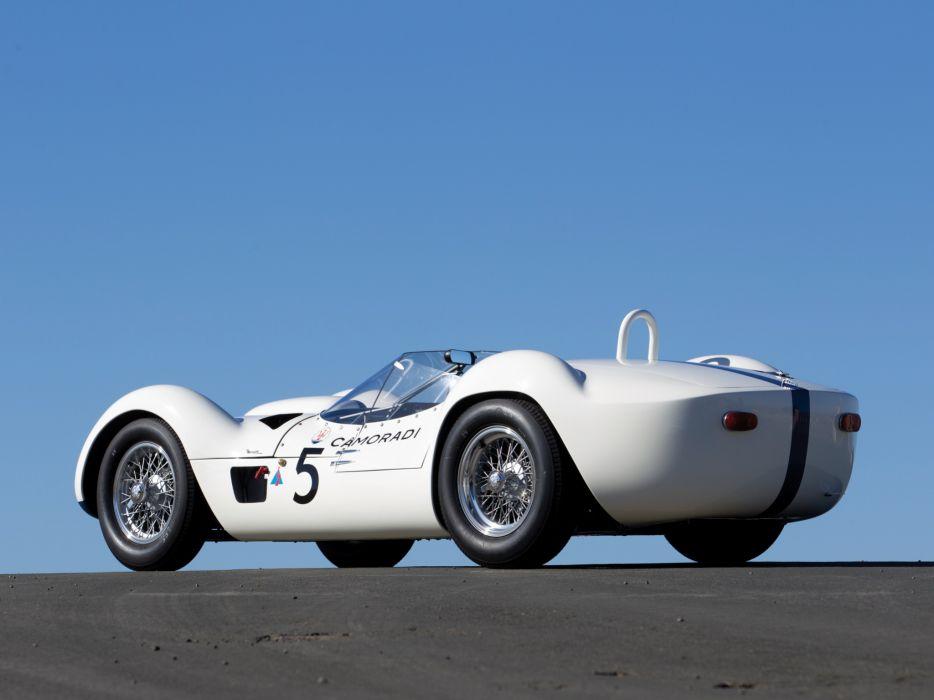 1959 Maserati Tipo 6-1 Birdcage race racing supercar supercars retro    g wallpaper