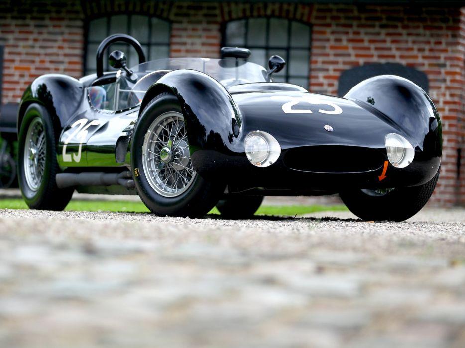 1959 Maserati Tipo 6-1 Birdcage race racing supercar supercars retro   gd wallpaper