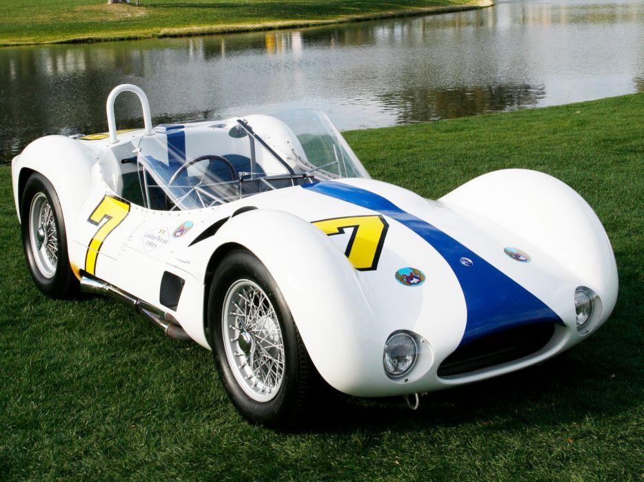 1959 Maserati Tipo 6-1 Birdcage race racing supercar supercars retro   r wallpaper