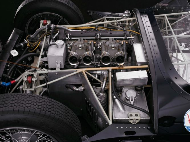 1959 Maserati Tipo 6-1 Birdcage race racing supercar supercars retro engine engines 4 wallpaper