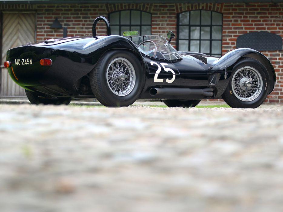 1959 Maserati Tipo 6-1 Birdcage race racing supercar supercars retro  h wallpaper