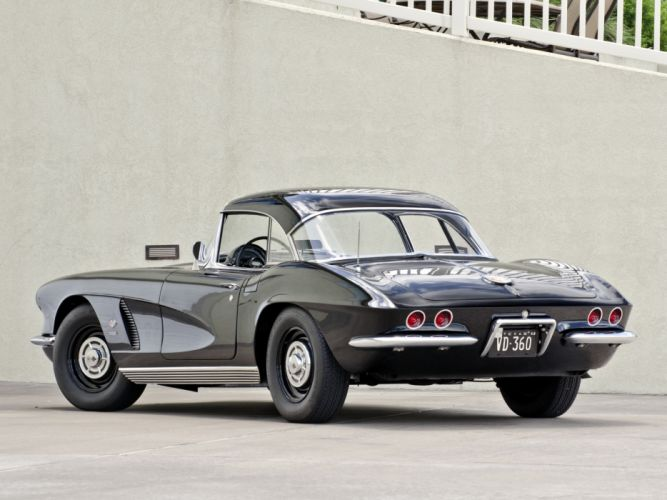1962 Chevrolet Corvette C-1 Fuel Injection supercar supercars muscle classic hf wallpaper