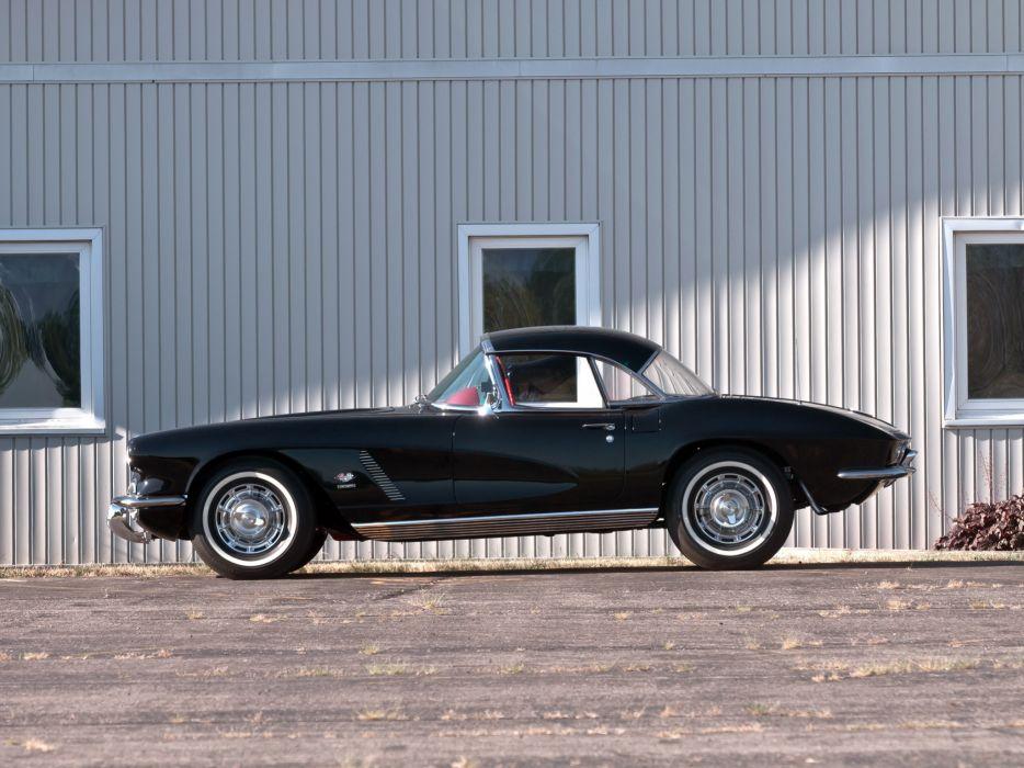 1962 Chevrolet Corvette C-1 Fuel Injection supercar supercars muscle classic   j wallpaper