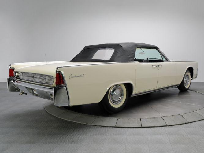 1962 Lincoln Continental Convertible classic luxury f wallpaper