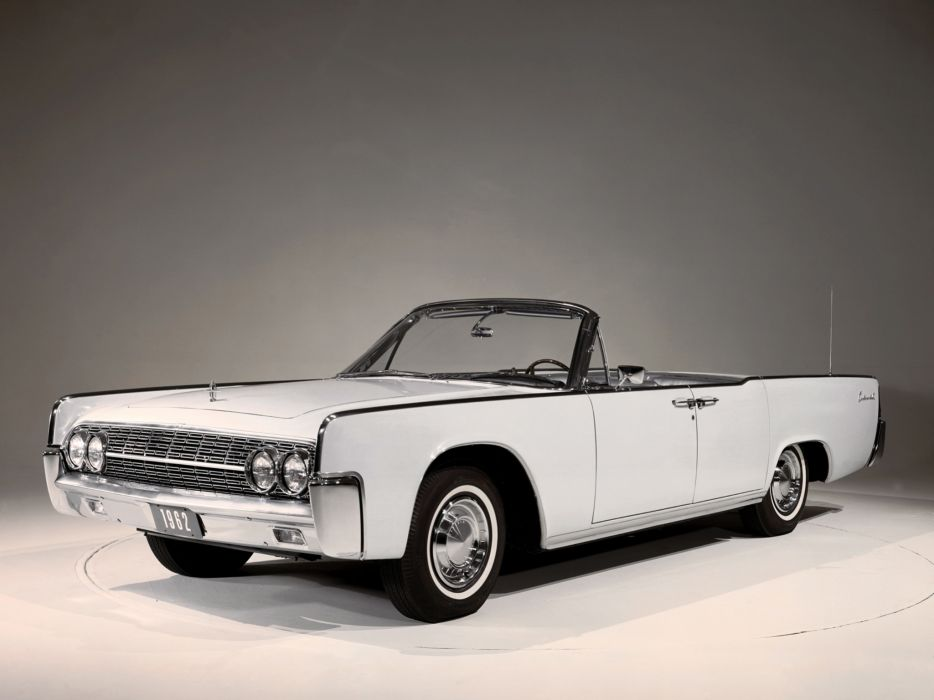 1962 Lincoln Continental Convertible classic luxury    g wallpaper