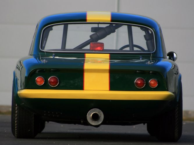 1962 Lotus Elan Competition Coupe Type-26R classic race racing g wallpaper