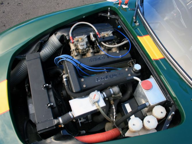 1962 Lotus Elan Competition Coupe Type-26R classic race racing engine engines e wallpaper