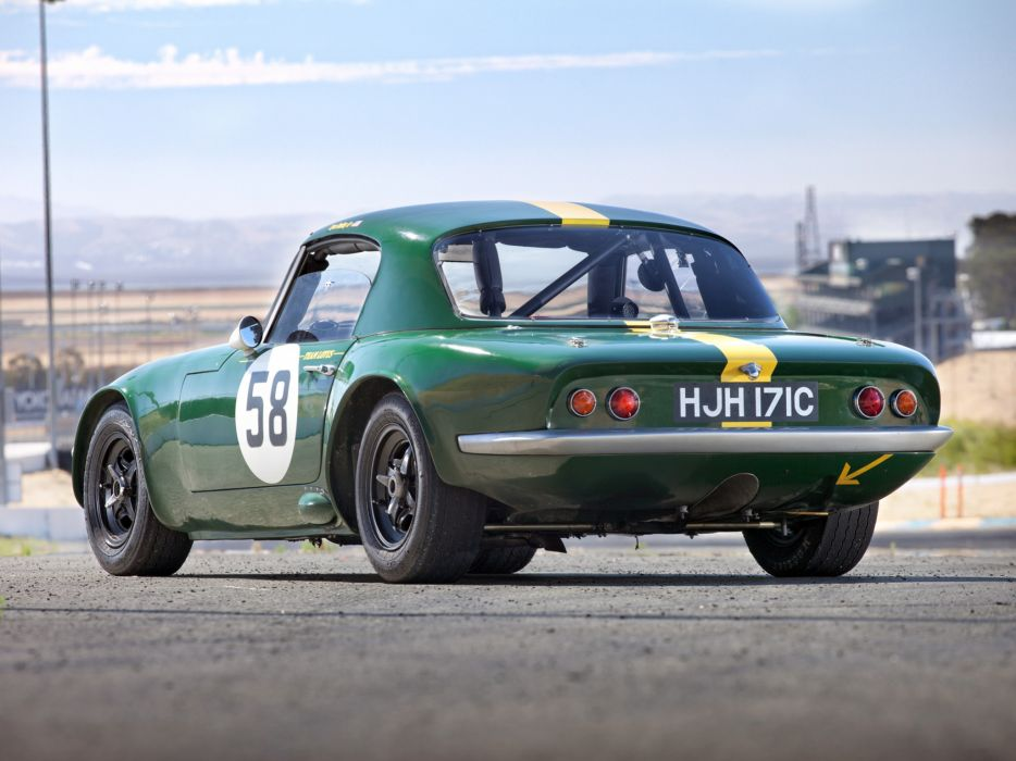 1962 Lotus Elan Competition Coupe Type-26R classic race racing  fs wallpaper