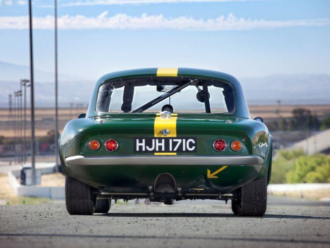 1962 Lotus Elan Competition Coupe Type-26R classic race racing f wallpaper