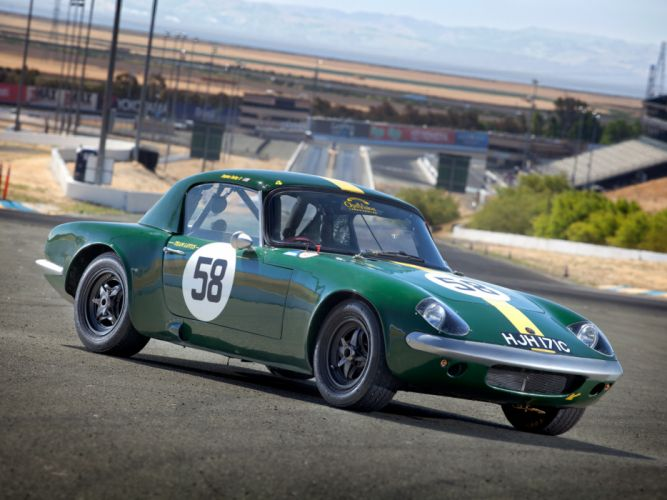 1962 Lotus Elan Competition Coupe Type-26R classic race racing wallpaper