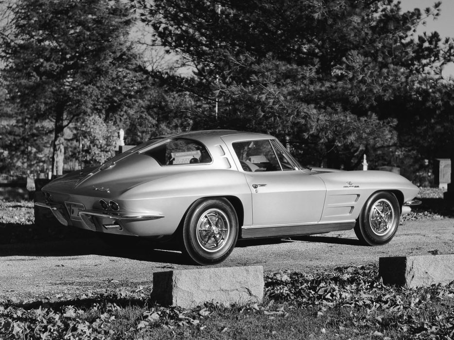 1963 Corvette Sting Ray Z06 C-2 supercar supercars muscle classic   f wallpaper