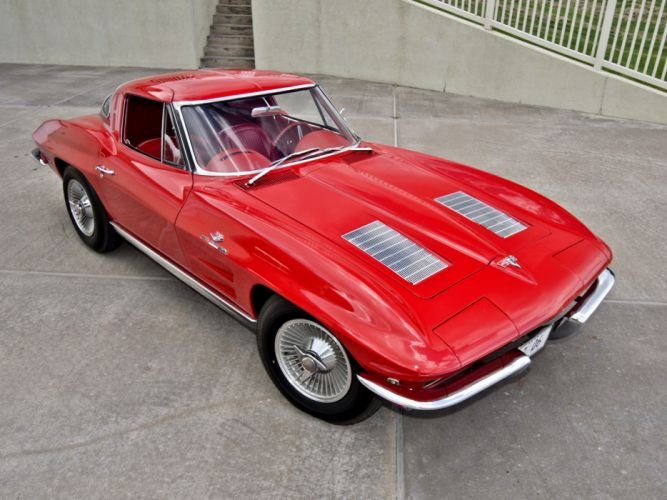 1963 Corvette Sting Ray Z06 C-2 supercar supercars muscle classic g wallpaper