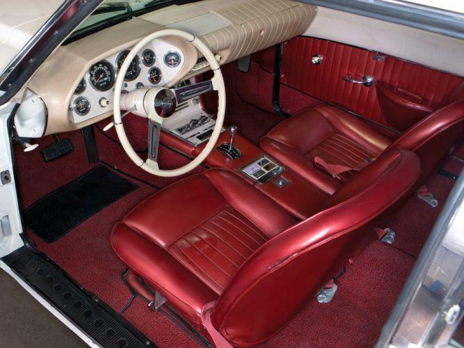 1963 Studebaker Avanti classic interior wallpaper