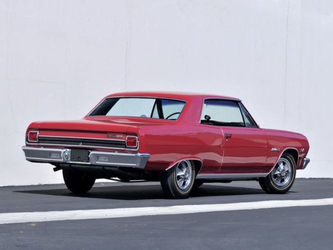 1965 Chevrolet Chevelle Malibu S-S 396 Z16 Hardtop Coupe classic muscle g wallpaper